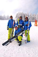 Skischule Mitterdorf mit Skilehrer