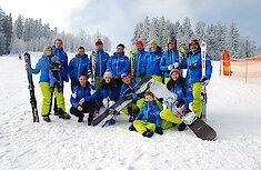 Skischule im Bayerischen Wald